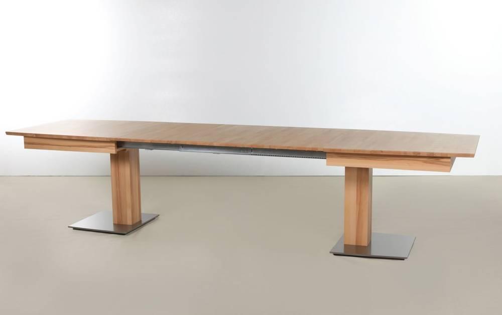 Amela massivholz kulissentisch 2xl 3xl ausziehbar 2xl for Kulissentisch ausziehbar