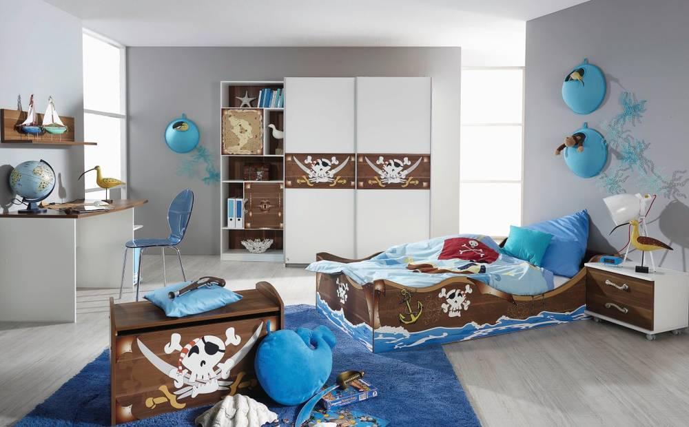 piraten kinderzimmer gestalten - kinderzimmer 2017, Schlafzimmer design