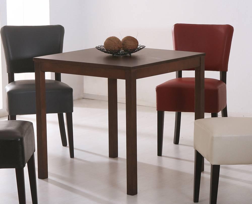 paula esstisch massivholztisch lackiert 75x75 cm kernbuche. Black Bedroom Furniture Sets. Home Design Ideas