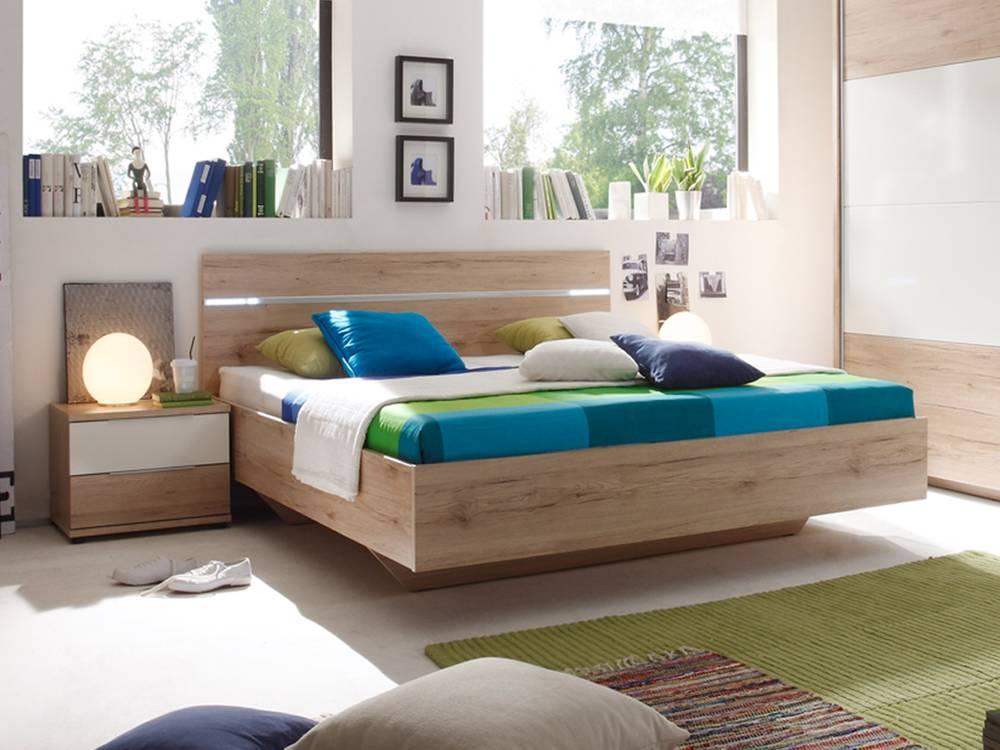 pira schlafzimmer komplett schlafzimmer set schrank eiche san remo hell wei. Black Bedroom Furniture Sets. Home Design Ideas