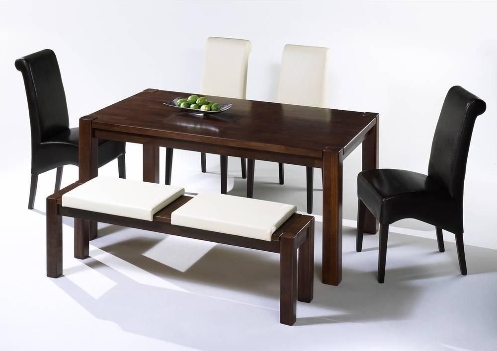 sitzkissen klemmkissen f r sitzbank kunstleder dunkelbraun. Black Bedroom Furniture Sets. Home Design Ideas