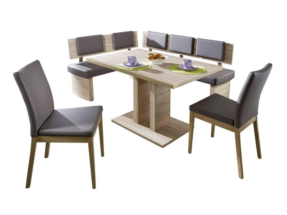 triple eckbank sonoma eiche dekor. Black Bedroom Furniture Sets. Home Design Ideas