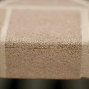 Mataro Sandstein Tisch 180x100 cm Mosaik coffee/black  DETAIL_IMAGE 3