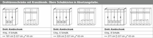 RIXI komplett Schlafzimmer 160 x 200 | 181 cm | ohne Spiegel DETAIL_IMAGE 3