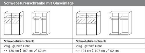 COOKIE Komplettschlafzimmer III 136 cm | Alpinweiss/grau DETAIL_IMAGE 3