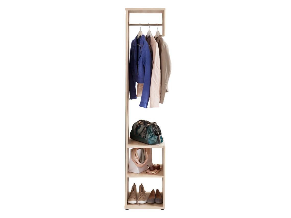 kompakt garderobe alf edelbuche. Black Bedroom Furniture Sets. Home Design Ideas