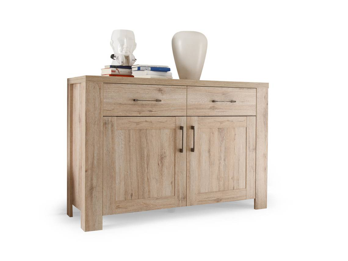 leroy kommode sideboard eiche san remo hell. Black Bedroom Furniture Sets. Home Design Ideas