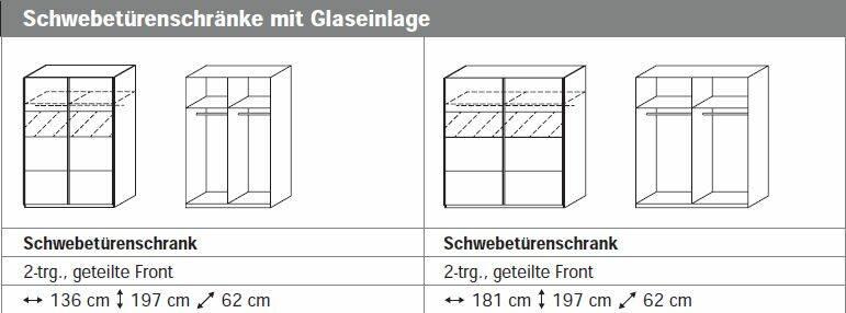 COOKIE III Komplett-Schlafzimmer 136 cm   Alpinweiss DETAIL_IMAGE 3