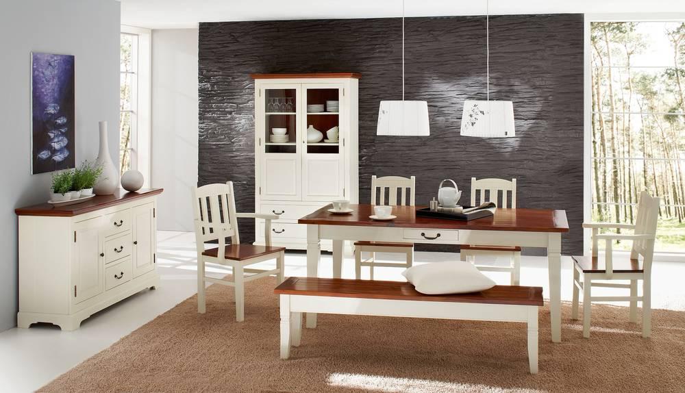 Wohnzimmer Antik Weis : SANTAFEE Schreibtisch antik weiß/akazie ...