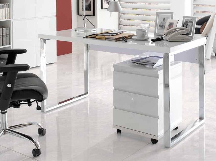 Schreibtisch weiß hochglanz 140  Schreibtisch Weiß Hochglanz 140 | afdecker.com