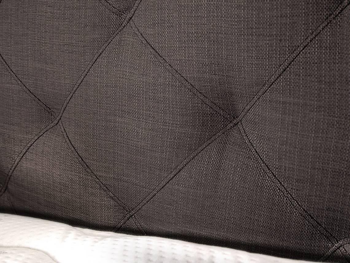 premium boxspringbett inkl kopfteil 90 x 200 cm braun. Black Bedroom Furniture Sets. Home Design Ideas