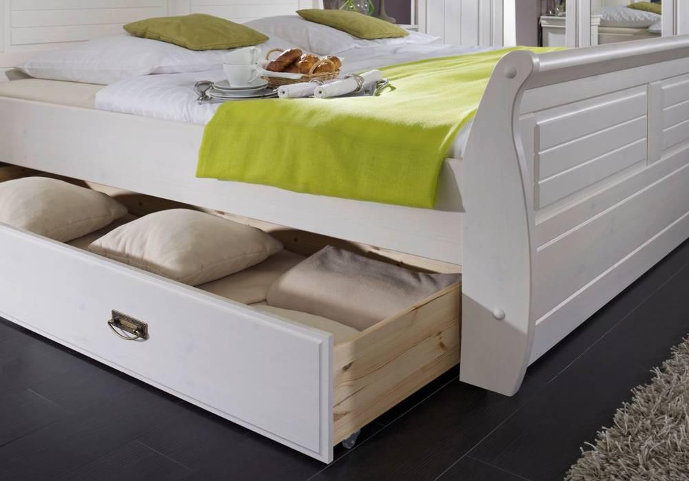 ROMEO Komplett Schlafzimmer Bettkasten Nachttisch Schrank Bett ...