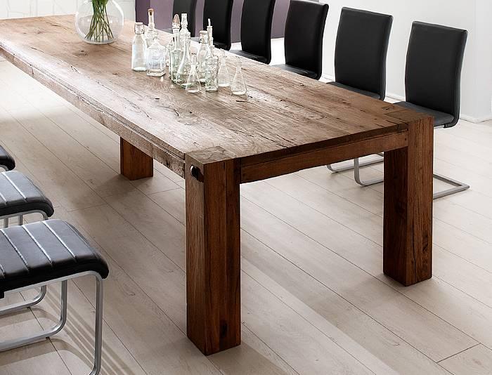 massivholz tisch dekoration mode fashion. Black Bedroom Furniture Sets. Home Design Ideas