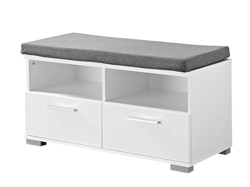 spots garderoben kombi ii weiss hg schiefer. Black Bedroom Furniture Sets. Home Design Ideas