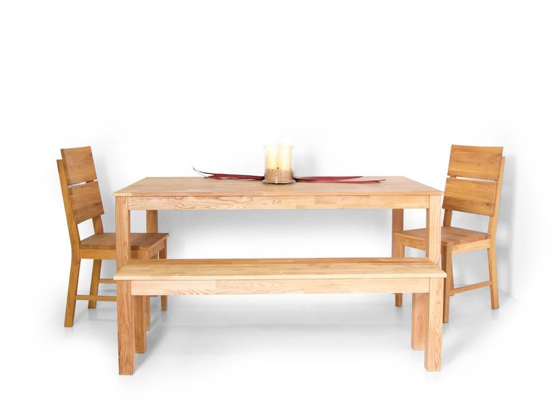 dalian sitzbank massivholzsitzbank eiche ge lt 120 cm. Black Bedroom Furniture Sets. Home Design Ideas