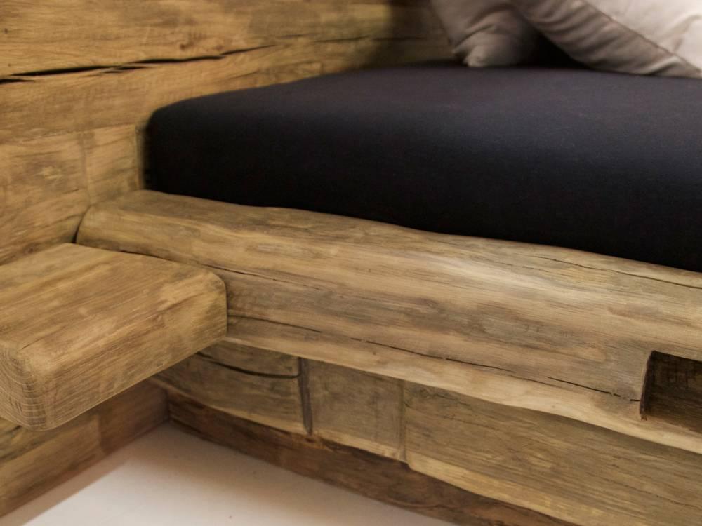 wikinger massivholzbett 180x200 cm. Black Bedroom Furniture Sets. Home Design Ideas
