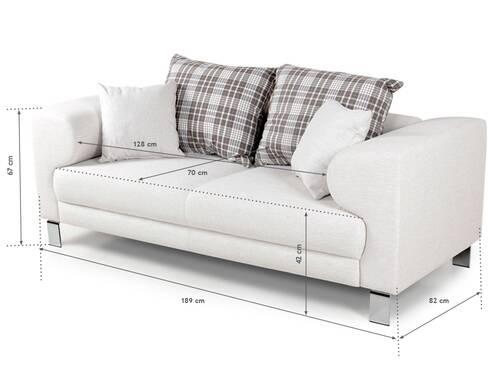 FOLKE 2-Sitzer Sofa beige  DETAIL_IMAGE 6