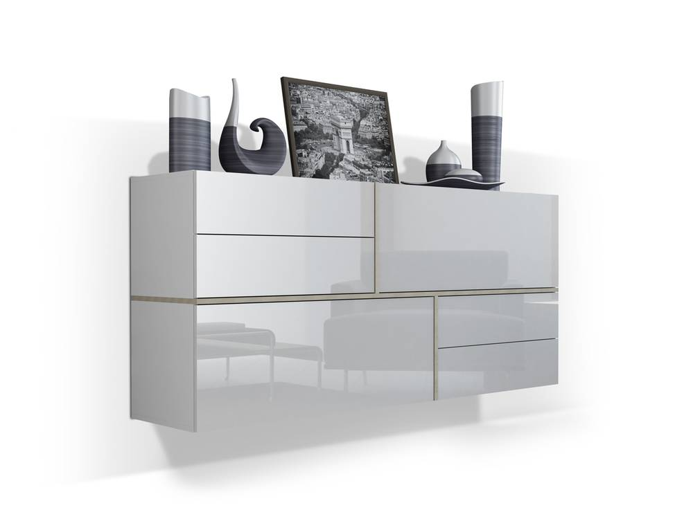 georg h ngekommode weiss eiche sonoma. Black Bedroom Furniture Sets. Home Design Ideas