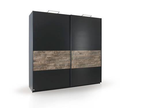 stardust schwebet renschrank schwarz vintage 181 cm ohne. Black Bedroom Furniture Sets. Home Design Ideas