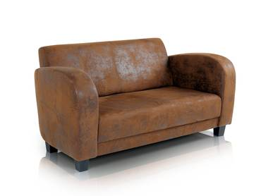 ANTO Sofa 2-Sitzer Gobi braun