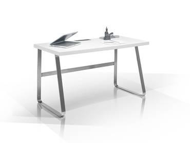 BAILEY II Schreibtisch matt weiß