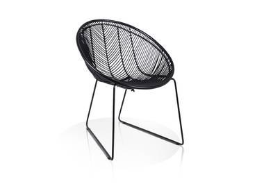 OCTAVO Lounge Sessel schwarz