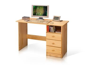 PC Schreibtisch / Kinderschreibtisch Kiefer 8844