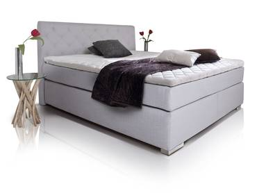 boxspringbetten ohne kopfteil boxspringbett ohne kopfteil in 160x200 z b sydney. Black Bedroom Furniture Sets. Home Design Ideas