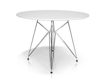ROLLY Tisch rund 105 cm weiß
