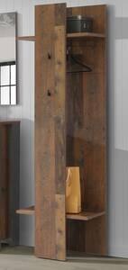 CASSIA Garderobenpaneel Old wood Vintage