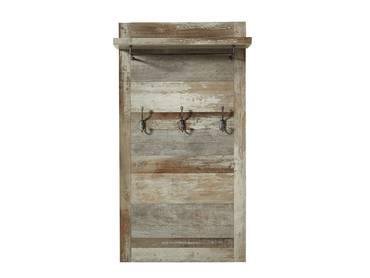 BALI II Garderobenpaneel Driftwood