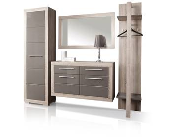 zarah ii garderobenkombi wei beton. Black Bedroom Furniture Sets. Home Design Ideas