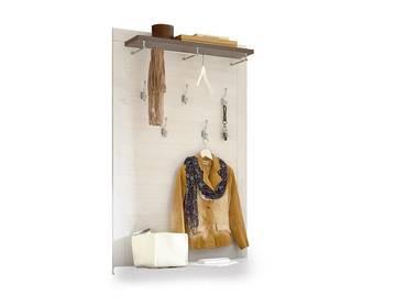 ANTWERPEN Garderobenpaneel Lärche/Pinie dunkel