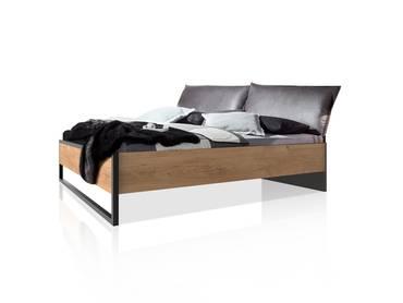 DASTY Doppelbett mit Polsterkopfteil