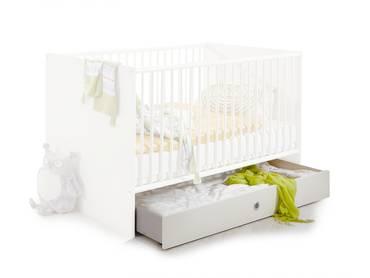BECCA Bettschubkasten für Babybett weiß