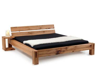 BERMUDA Doppelbett/Massivholzbett Sumpfeiche