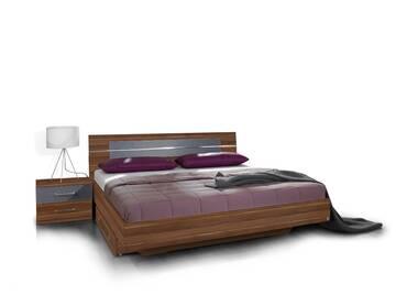 BERRY Doppelbett/Futonbett inkl. 2 Nachttische
