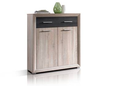 brandy hochwertige garderobenm bel aus holz g nstig bei m bel eins. Black Bedroom Furniture Sets. Home Design Ideas