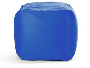 CUBE Sitzwürfel blau 75L soft seating by SITTING BULL
