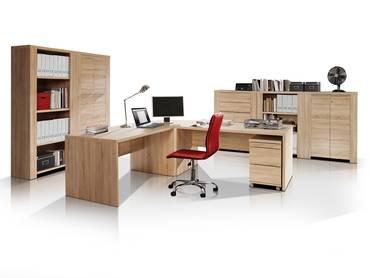 CAMILLO II Komplett-Büro Sonoma Eiche