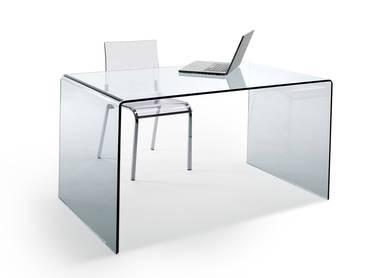 CHALET Schreibtisch Glas