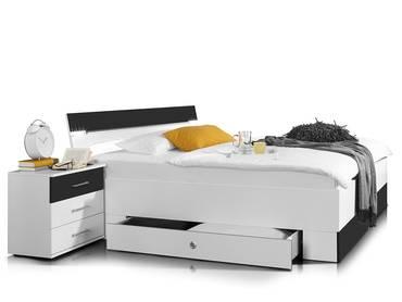 CHEEK Doppelbett inkl. Bettkasten
