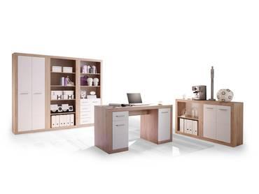 CHESTER II Komplett-Büro San Remo/weiß
