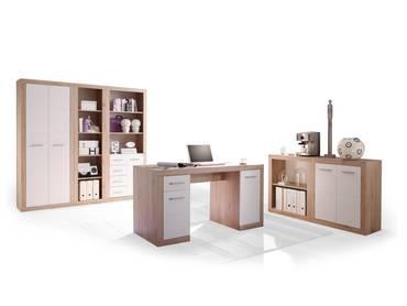 CHESTER III Komplett-Büro San Remo/weiß