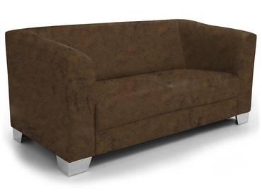 CHICAGO 2-Sitzer Sofa Gobi 03 braun