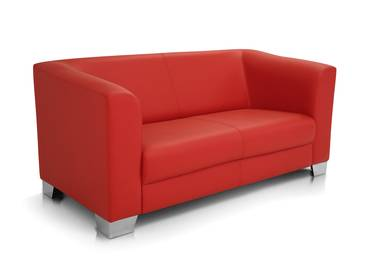 CHICAGO 2er Sofa / Ledersofa