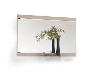 CREDA Spiegel Eiche Sonoma Dekor/Weiß