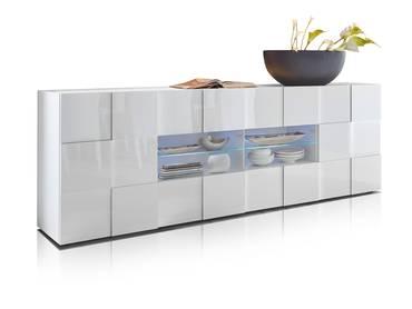 DAMIRO Sideboard mit 2 Türen und 4 Schubkästen