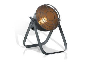 DORA Stehlampe klein Metall Grau