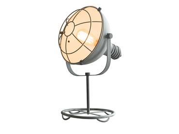 DOROTHE Tischlampe Grau